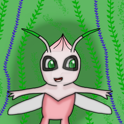 Shiny Celebi Comes to visit by IttyBitty1996