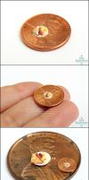 The Real Tiniest Breakfast - 1:48 Scale by PepperTreeArt