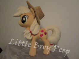 My little pony Applejack plush (commission) by Little-Broy-Peep