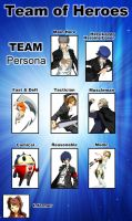 Team Persona by LarsJunFan