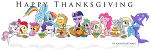 My Little Thanksgiving by SouthParkTaoist