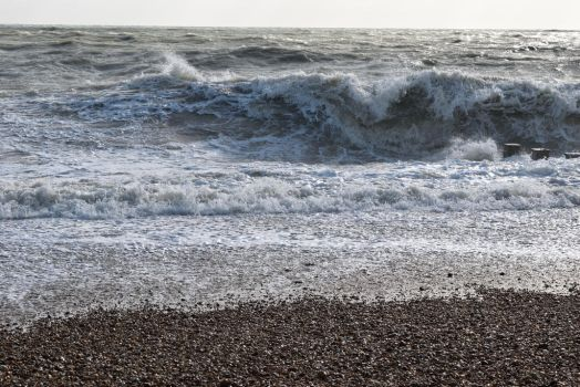 DSC 0040 Bexhill Beach by wintersmagicstock