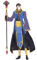 Mage Male :COMM: by shawn1013