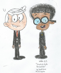 Lincoln and Clyde Dressed Up 1 by WillM3luvTrains