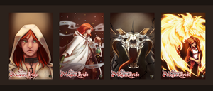 Ancient Magus Bride Book Cover Series by AshasCadence