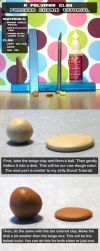 Polymer Clay Pancake Tutorial by chat-noir