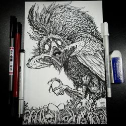 Deep Crow (Inks) by BiggySchmalz