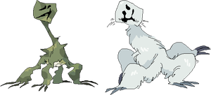 desert and tundra creepers by tech-impaired-anubis