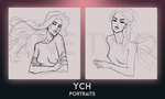 YCH Close: Portraits by HOLLYFOOL