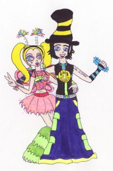 Brittany and Kevin: Ravers? by TheDramaticMonarch