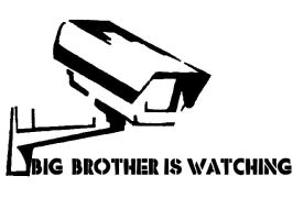 Big Brother is Watching by GraffitiWatcher