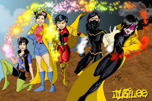 X-Men Evolutions Jubilee fin by kadenfukuyama