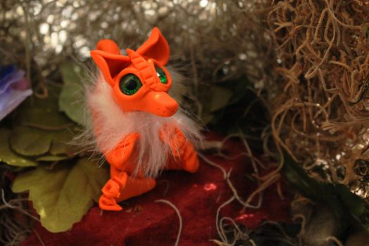 SOLD: Whisper the Mini Kitsune by Canis-Angst