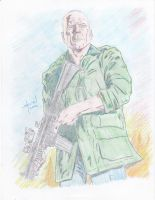 Bruce Willis is Expendable by StevenWilcox
