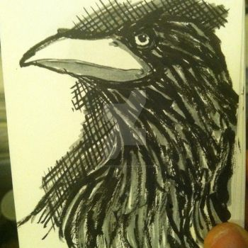 the raven by larthosgrr8