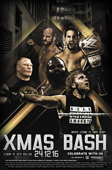 Christmas Bash | New WWE PPV by GherdezGFX