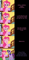 Pinkie Pie Says Goodnight: Sweet Dreams by MLP-Silver-Quill