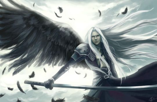 One Winged Angel by cypritree
