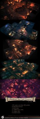 Inn and Tavern Unity Pack by Texelion