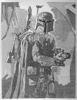 Boba Fett....or cant you tell? by DTM352