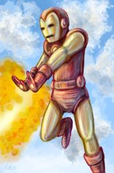 Silver Age Iron Man by McMitters