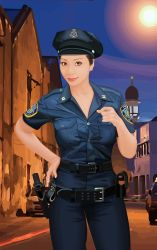 Police lady by khiunngiap