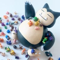 (Giant) Snorlax by lonelysouthpaw