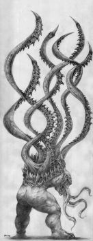 Tentacle Monster by Morbidmic