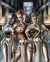 The Gorgon Sisters by Ito-Saith-Webb