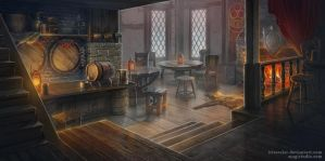 Tavern by IrisErelar