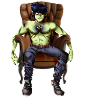 Murdoc is god by Chridder