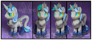 Prince Nightfall Custom Plush by Nazegoreng