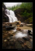 Unnamed Waterfall by uberfischer