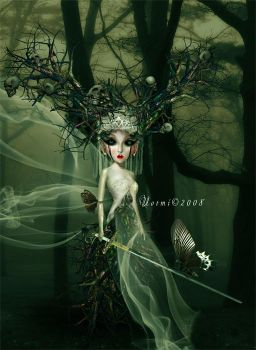 FOREST QUEEN by notmystyle