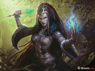 Witch Warlord by effenndee