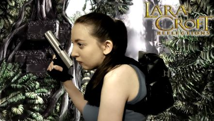 Lara Croft: Reflections by KateRSykes