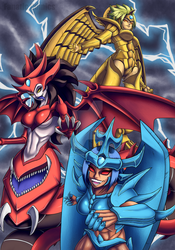 Monster Girl Series - The Egyptian Gods by Fanatic-Comics