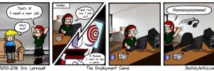The Employment Game by SketchyAntics