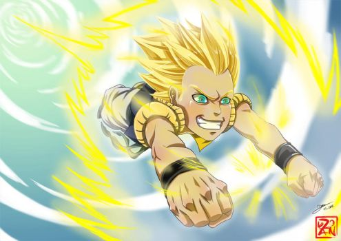 Super Gotenks by Dzoan