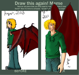 Before and After Meme by AnimeVSReality