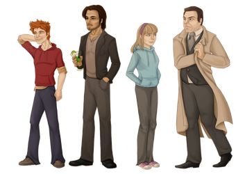 Relativity Character Set 4 by Astral-Dragon