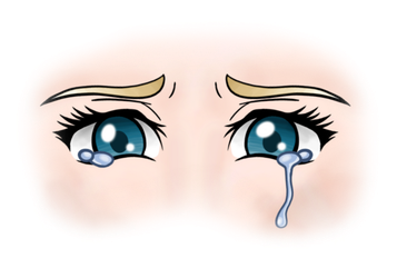 frowny cry by anineko