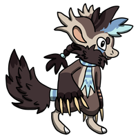 BBB-day: Tobias the wolverine BB by Potoo-Foolery