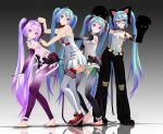 MMD Tda Append MIKU Four by TOUKO-P