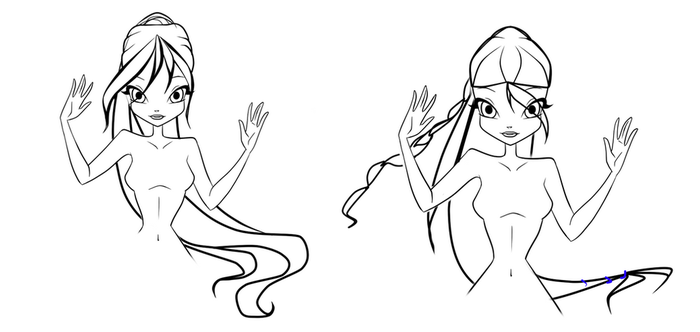 .::ADOPTABLE HAIRSTYLE::. (OPEN) left 1 by WinxCLUBbrazil