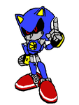 metal over sonic - 1 by mitchika2