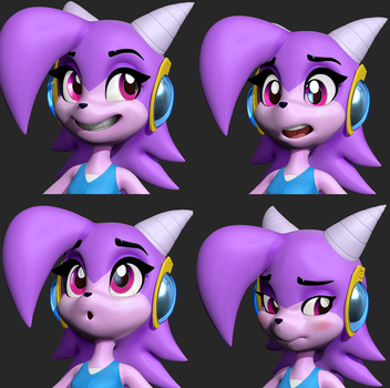 Sash Lilac Expressions by Lemurfeature