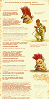 Scrafty realistic design