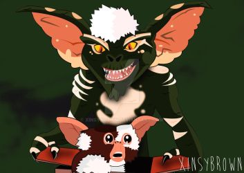Deck the halls, the Gremlins are here! by XinsyBrown