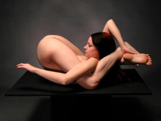 7486-MAK Beautiful Flexible Nude Woman by artonline